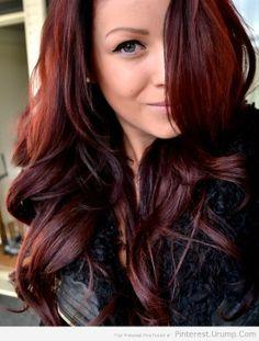 Age Beautiful Demi Dark Red Mahogany Brown Dark Brown