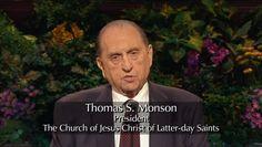 Come, listen to a prophet's voice!  #LDSCONF Thomas S. Monson, President of The Church of JESUS CHRIST of Latter-Day Saints.  Two NEW Temples announced: Cedar City, UT; Rio de Janeiro