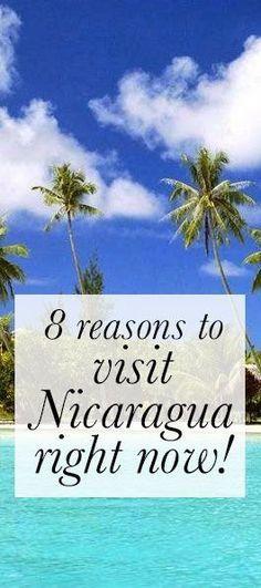 Why you should check out the land of lakes and volcanoes asap! #Nicaragua