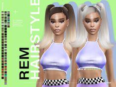 cc the sims 4 hair cabelo mais perfeito que se vai ver hoje Sims 4 Mods Clothes, Sims 4 Clothing, Sims Mods, Sims 4 Black Hair, Black Girls Hairstyles, Female Hairstyles, Sims 4 Toddler, The Sims 4 Download, Sims Hair