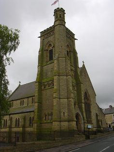 St. Stephen's Church, Oxford Road, Burnley Wood | by mrrobertwade (wadey) Burnley, My Town, Tower Bridge, Old Photos, Barcelona Cathedral, Oxford, Explore, Rose, Building