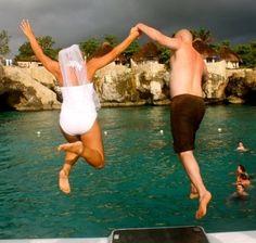 Amazing cruise wedding photoshoot idea! Would love to make this happen on board a Hauraki Blue wedding cruise...