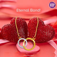 Celebrate your eternal bond of love with our intertwined pendant. Gift it to a loved one and see them cherish it with a heart full of love!  View more: http://bit.ly/2l3EEAz  #WhpLovesLovers