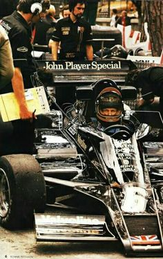 #6 Ronnie Peterson...John Player Team Lotus...Lotus 78...Motor Ford Cosworth DFV V8 3.0...GP Monaco 1978