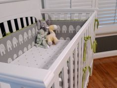 Custom CRIB BUMPER you design- Choose your own fabric. $139.00, via Etsy.