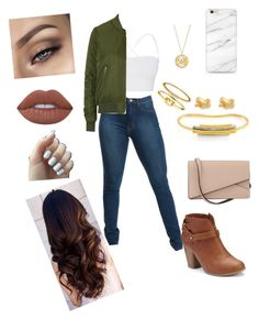 """""""Untitled #32"""" by malai-chue-1 on Polyvore featuring Theory, Topshop, LC Lauren Conrad, Valextra, Jennifer Zeuner, Accessorize, Gemma Redux, Kate Spade and Lime Crime"""