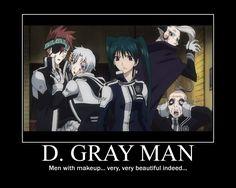 D. Gray Man Demotivational by grachiel.deviantart.com on @deviantART