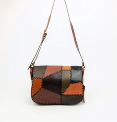 fab01deceadc Patricia Nash Positano Patchwork Leather Messenger Purse | Jax & Henley  Patricia Nash, Branded Bags