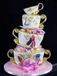 Like img - Showing > Mad Hatter Birthday Cakes