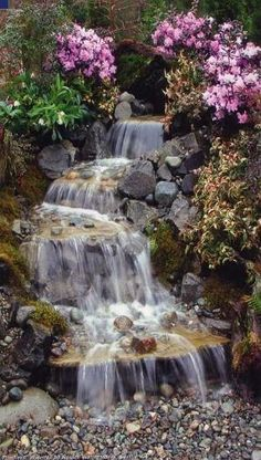 11-natural-stream-to-guide-rain-water-ideas-start-a-back-yard-garden-project-diy (6) by alondrawaters