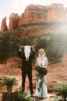 Wedding Trends Sedona Red Rock Elopement Wedding at Cathedral Rock Sedona Wedding, Elope Wedding, Wedding Pics, Boho Wedding, Wedding Styles, Dream Wedding, Elopement Wedding, Wedding Ideas, Wedding Shot