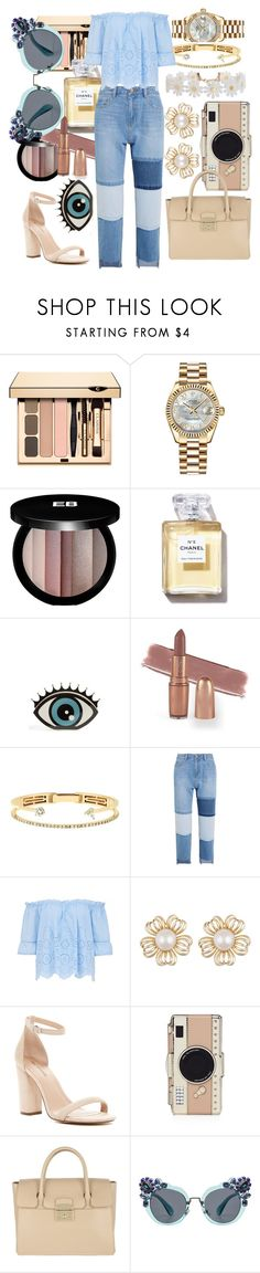 """""""Jeans//🗝"""" by eva-l118 ❤ liked on Polyvore featuring Rolex, Edward Bess, Charlotte Olympia, Delfina Delettrez, Steve J & Yoni P, Call it SPRING, Kate Spade, Furla, Miu Miu and Humble Chic"""