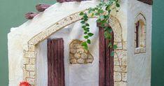 venta de belenes en República Dominicana Christmas Nativity Scene, Miniature Crafts, Arts And Crafts, Bricolage