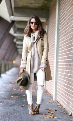 Look: Camila Coelho - Trench Coat & Tricot