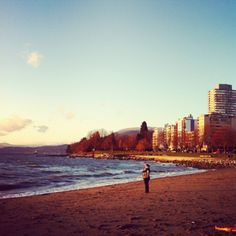 English Bay, Vancouver BC. I want to be here every morning