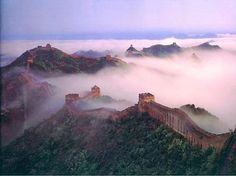 Travel Great Wall of China ,New Seven Wonders of the World Beautiful Places In The World, Oh The Places You'll Go, Wonderful Places, Places To Travel, Places To Visit, Amazing Things, Amazing Places, Travel Destinations, Great Wall Of China