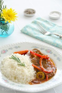 One Of The Unique Recipes That I Know That Uses A Not So Ordinary Ingredient Lengua With Liver Sauce That Is Beef Tongue With Liver Sauce Pinterest