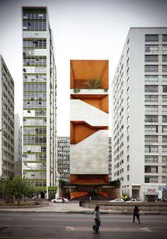vista da Avenida Paulista | view from the Paulista Avenue – Arquitetos Associados