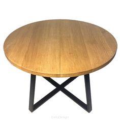 Stół industrialny rozkładany okrągły ST 45 R by NG4U