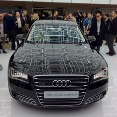New Audi A8L W12. Was on the show floor at the 2012 CES. Very luxe and gadgety inside.