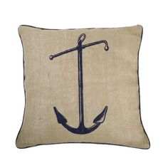 Lets start with this Thomaspaul - Anchor Pillow to sit nicely on a single chair