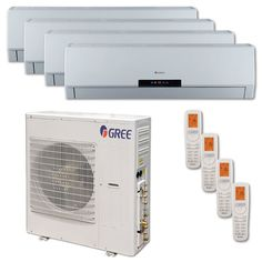Remodeling with ductless mini split heat pumps useful for Small heating systems