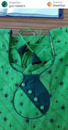 Chudithar Neck Designs, Churidhar Designs, Salwar Neck Designs, Neck Designs For Suits, Kurta Neck Design, Neckline Designs, Sleeves Designs For Dresses, Blouse Neck Designs, Cutwork Blouse Designs
