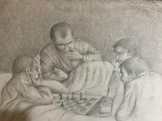 Validebağ da satranç oynayanlar 1982