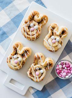 Easter Bunny Cinnamon Rolls   Best Friends For Frosting Spring Treats, Easter Celebration, Easter Treats, Perfect Food, Cinnamon Rolls, Easter Bunny, Food Print, Good Food