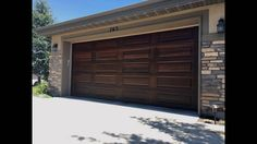 Make Garage Doors Look Like Wood - Finding the best garage door for your house or business can require spending time at the & Colored Garage Door Weather Stripping   http://voteno123.com ...