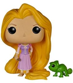 Funko FUN5135 - Pop! Disney: Rapunzel & Pascal Actionfiguren, 10cm