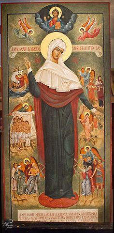 """ΜΡ.ΘΥ_Παναγια   """" Η χαρα των θλιβομενων""""   ( Theotokos, The Joy of All Who Grieve"""
