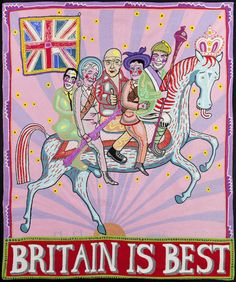 Find the latest shows, biography, and artworks for sale by Grayson Perry. Winner of the 2003 Turner Prize, Grayson Perry creates ceramics and other objects t… Grayson Perry Tapestry, Grayson Perry Art, Joan Miro, Art Public, Art Gallery, A Level Art, Art Moderne, Oeuvre D'art, Les Oeuvres