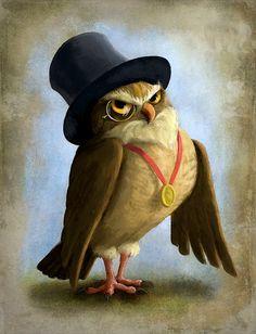 Jeremy Norton Illustration - Owl by JeremyNorton on DeviantArt