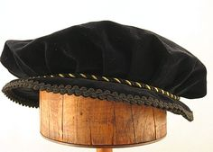 Pleated Flat Cap