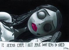 Parece que todavía tiene algunas lágrimas para derramar. Corpse Bride by DiegoCR