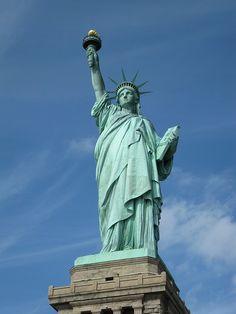 Estatua De La Libertad de Nueva York.