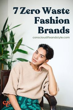 This article breaks down exactly what zero waste fashion is all about and lists out a number of innovative zero waste fashion brands that are paving the way for a more circular fashion industry. #Zerowastefashion #zerowasteclothing #sustainablefashion #zerowasteliving Ethical Fashion Brands, Ethical Clothing, Slow Fashion, Fashion News, Independent Clothing, Ethical Shopping, Fair Trade Fashion, Eco Friendly Fashion, Consumerism