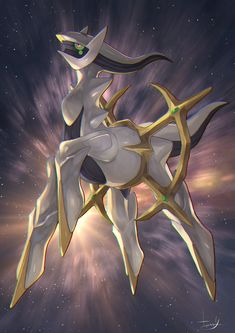 Arceus The Creator Deity Pokémon.