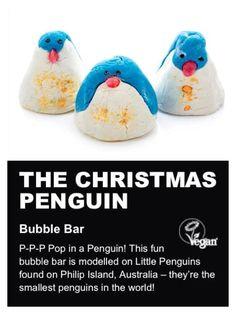 The Christmas Penguin: has orange flower, Sicilan Mandarin and lemon oil, which is really refreshing!