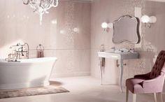 Ambiance romantique pour la salle de bains chic. Découvrez ...