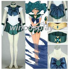 Kawaii Sailor Moon Sailor Neptune Kaiou Michiru by wincosplay, $78.50