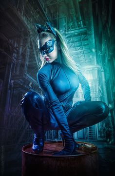 stealthy like a cat by wayofart.ch on Catwoman Cosplay, Batman And Catwoman, Girls Are Awesome, Dynamic Poses, Provocateur, Like A Cat, Cat Costumes, Illustrations Posters, Art Girl