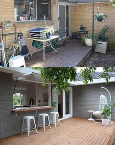 Home Renovation Loans for Repair and Maintenance – House Viral Gossip Home Exterior Makeover, Exterior Remodel, Patio Makeover, Reforma Exterior, Design Grill, Farm Kitchen Ideas, Kitchen Tips, Diy Kitchen, Home Renovation Loan
