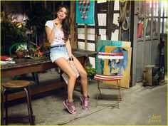 Selena Gomez Takes Selfies For Adidas NEO Summer Collection Campaign! | selena gomez adidas neo summer campaign 11 - Photo