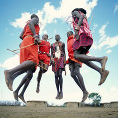 Maasai tribesmen. Maasai Mara. Kenya by hughsitton | Stocksy United