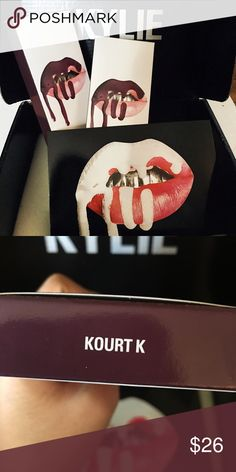 Kourt K Lip Kits 💋 Never been opened / used. Have four. Bundle and save 25% off! 😘 Kylie Cosmetics Makeup Lipstick