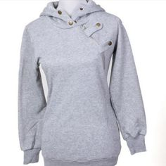Casual Long Sleeve Pullover Hoody Winter Jacket ~ $29.00 at daisydressforless.com
