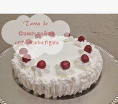Receta de esta tarta de chocolate y merengue