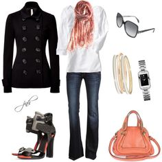 """""""My favorite - Jeans and Heels"""" by jill-hammel on Polyvore"""